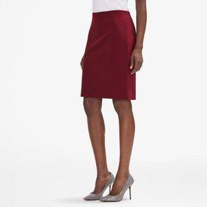 MM LaFleur Noho Pomegranate Pencil Skirt Size 2